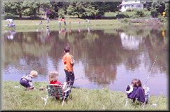 Meriden Rod and Gun Club's 2003 Fishing Derby at Baldwin Pond