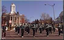 Maloney Band performs at Meriden's 2000  St. Patrick's Day Parade